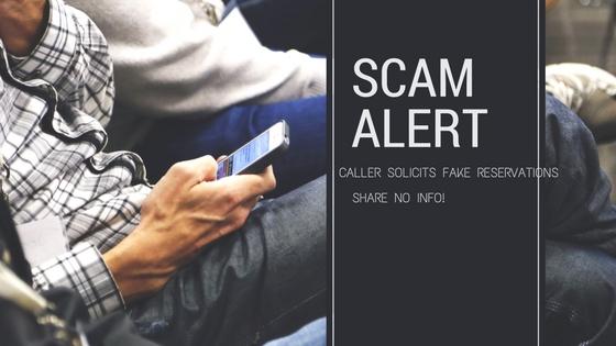 Hotel Scam Warning