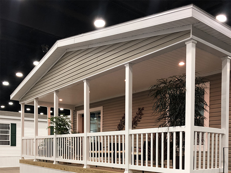 Manufactured Home with porch
